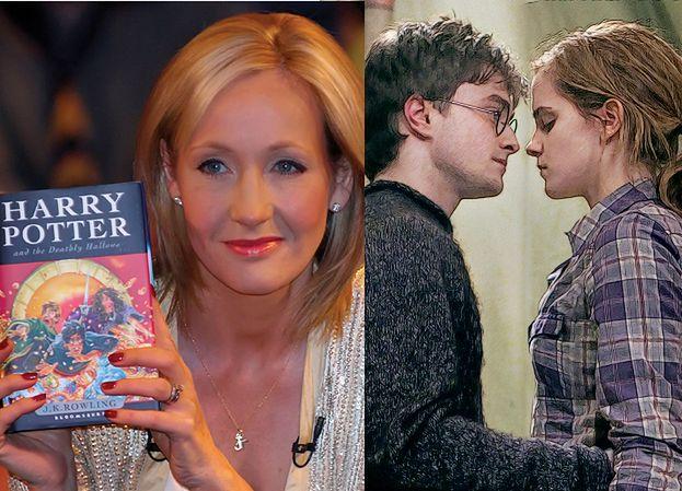 """J.K. Rowling: """"Hermiona powinna wyjść za Harry'ego!"""""""