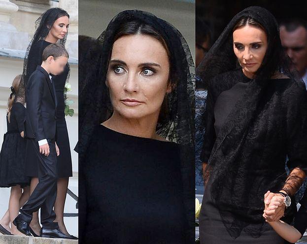 Dominika Kulczyk na pogrzebie ojca (ZDJĘCIA)