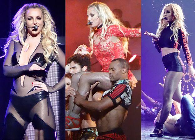 Britney pokazała efekty nowej diety na koncercie w Las Vegas! (ZDJĘCIA)