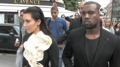 Elegancka Kim i Kanye w Paryżu