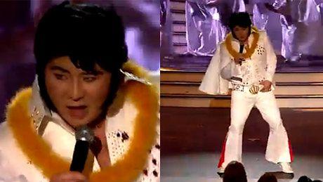 Bilguun jako Elvis Presley!