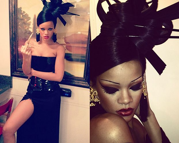 Rihanna jako gejsza (FOTO)
