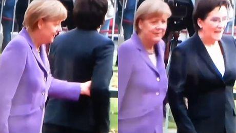 Dziwna wpadka Ewy Kopacz w Berlinie...