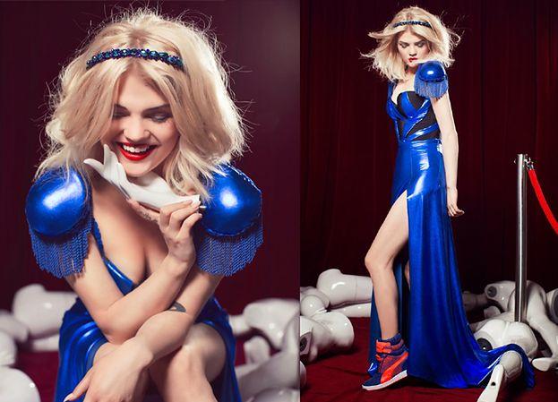 Margaret w niebieskiej sukni! SEKSOWNA?