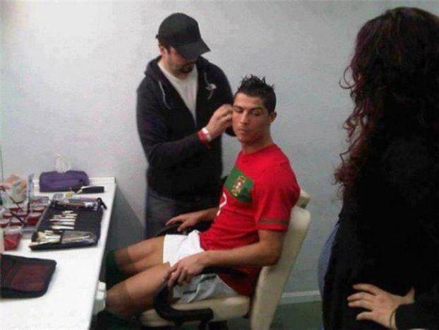 Ronaldo szykuje się do meczu...