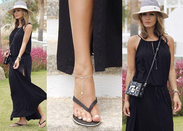 Sara Boruc chwali się klapkami Chanel za... 500 złotych! (ZDJĘCIA)