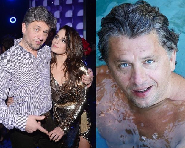 """Natasza Urbańska świętuje 60. urodziny męża jego zdjęciem w basenie. Fani zachwyceni: """"Pan Janusz jak wino"""""""