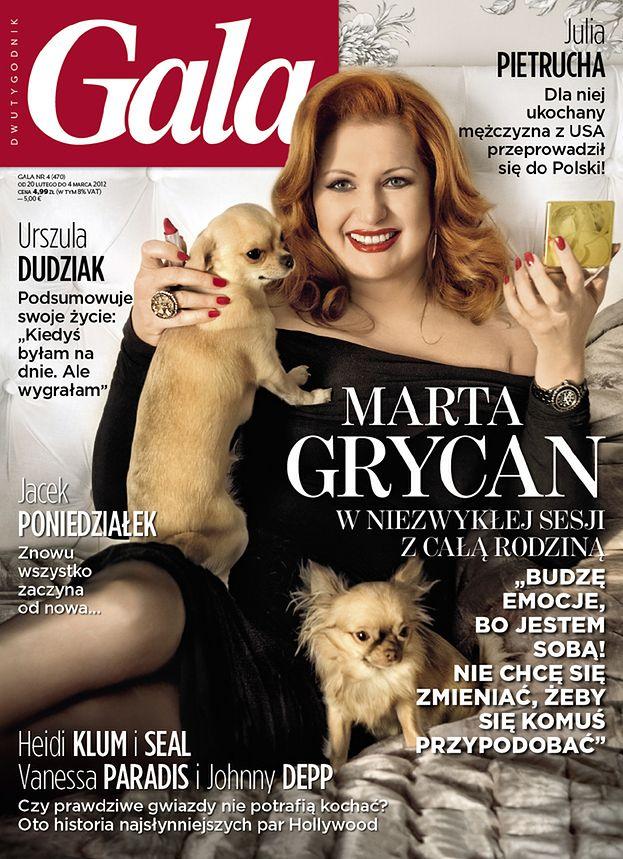 """Marta Grycan na okładce """"Gali""""! (SEXY?)"""