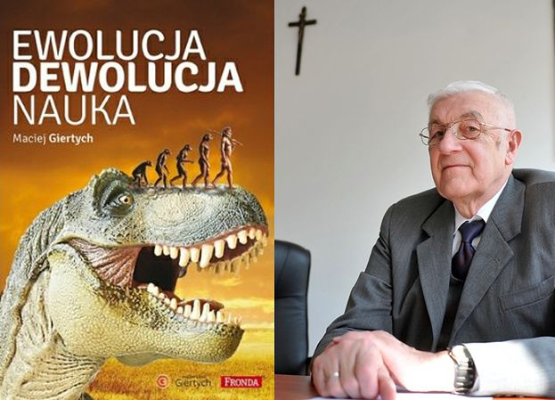 Ojciec Giertycha rozsyła do szkół książkę... zaprzeczającą teorii ewolucji!