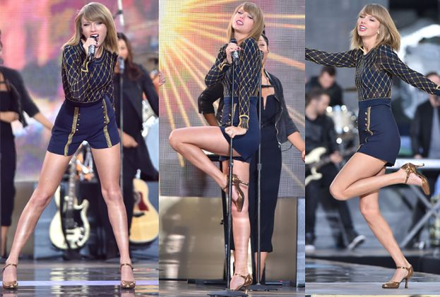 DŁUGIE NOGI Taylor Swift w Nowym Jorku! (ZDJĘCIA)