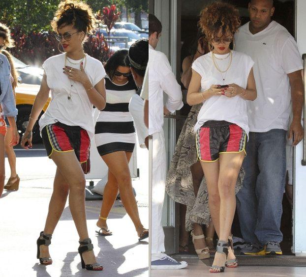 Rihanna na sportowo?