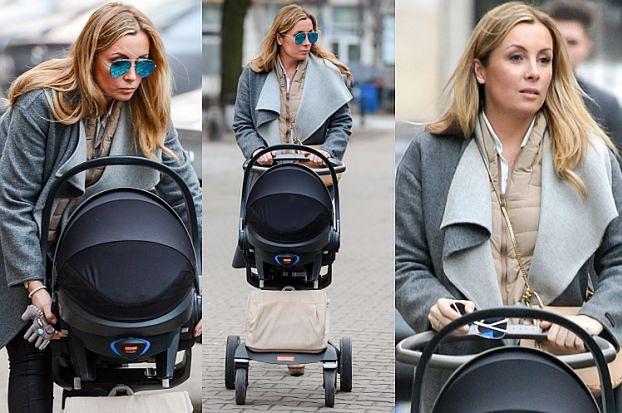 Karolina Ferenstein-Kraśko na spacerze z córką (ZDJĘCIA)