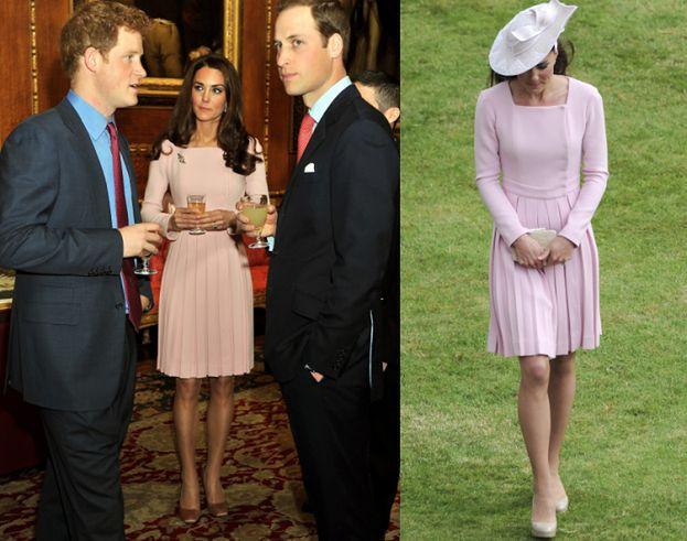 Kate w jednej sukience na 2 imprezach!