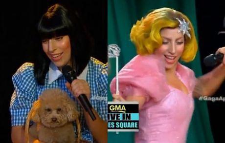 """""""Applause"""" Lady Gagi w stylu Czarnoksiężnika z Krainy Oz!"""