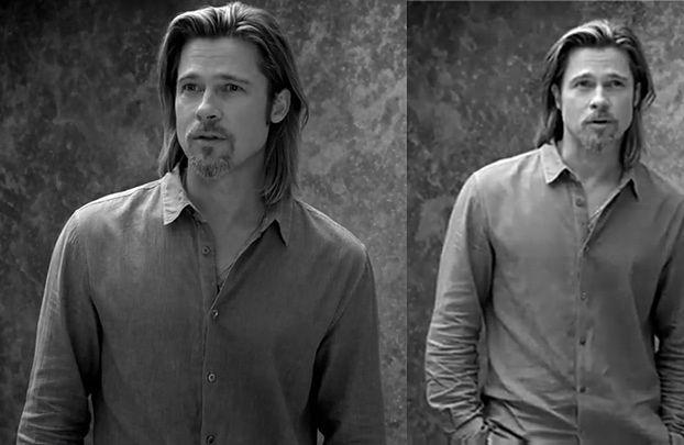 49-letni Brad Pitt twarzą Chanel... DZIAŁA NA WAS?