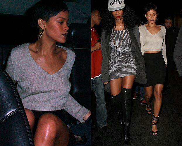 Rihanna bez stanika!