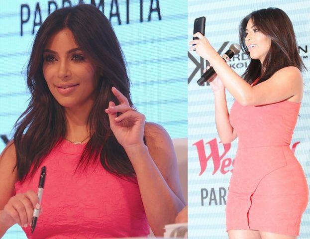 Kim Kardashian promuje swoje ubrania!