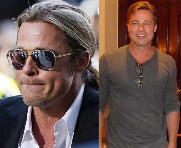 Brad Pitt OBCIĄŁ WŁOSY! (FOTO)