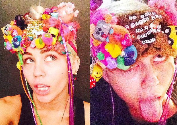"""Miley Cyrus została """"projektantką""""? (ZDJĘCIA)"""