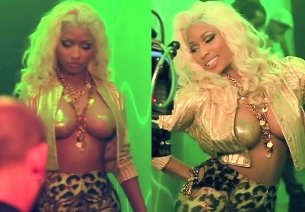 """Naturalne"" piersi Nicki Minaj (FOTO)"
