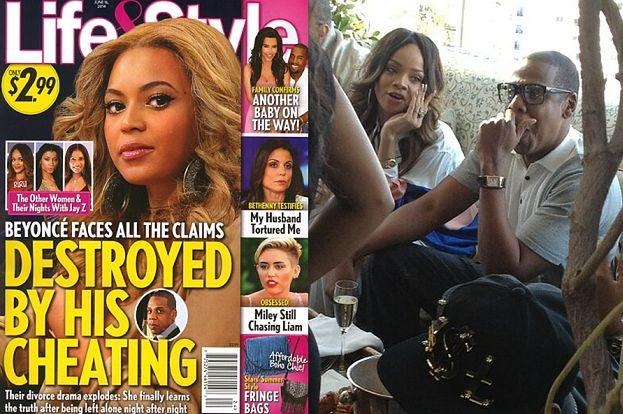 Jay-Z ZDRADZAŁ BEYONCE z Rihanną i Ritą Orą?!