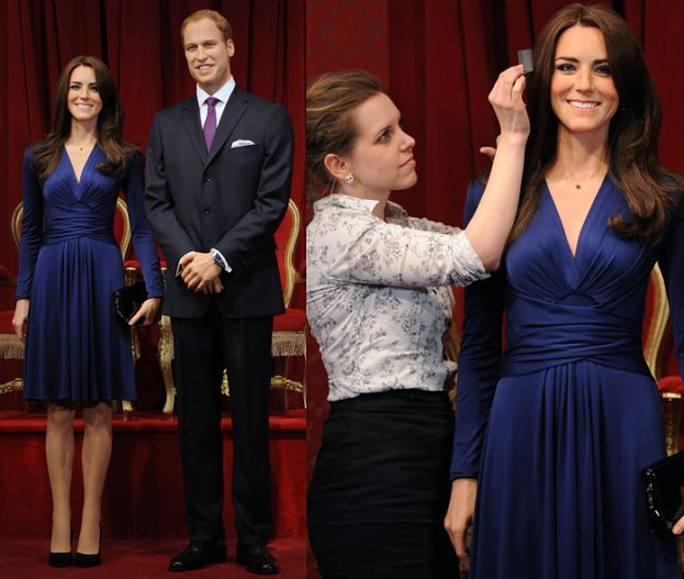 Figury woskowe Kate i Williama