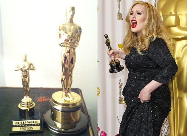 Adele podarowała synowi... małego Oscara (FOTO)