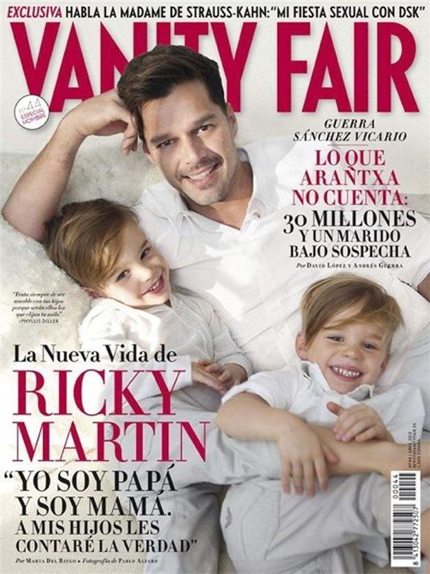 """Ricky Martin: """"JESTEM TATĄ I MAMĄ!"""" (FOTO)"""