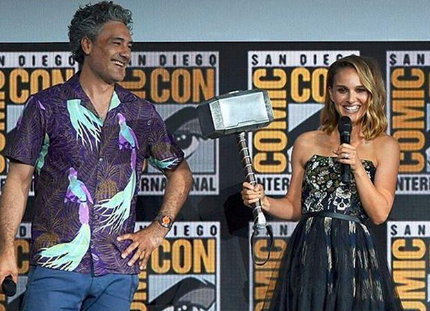 Marvel Cinematic Universe. Thora zagra Natalie Portman