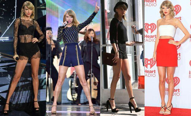 Taylor Swift ubezpieczyła swoje nogi... na 40 MILIONÓW!