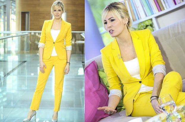 Popielewicz w żółtym garniturze... (ZDJĘCIA)