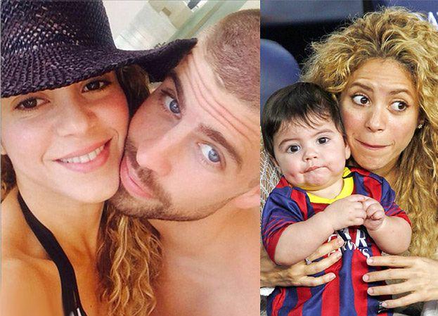 Shakira i Pique dali synowi na imię Sasha!