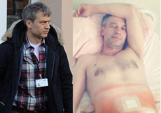 """Żebrowski nadal jest w szpitalu. """"Nastąpiły komplikacje"""""""