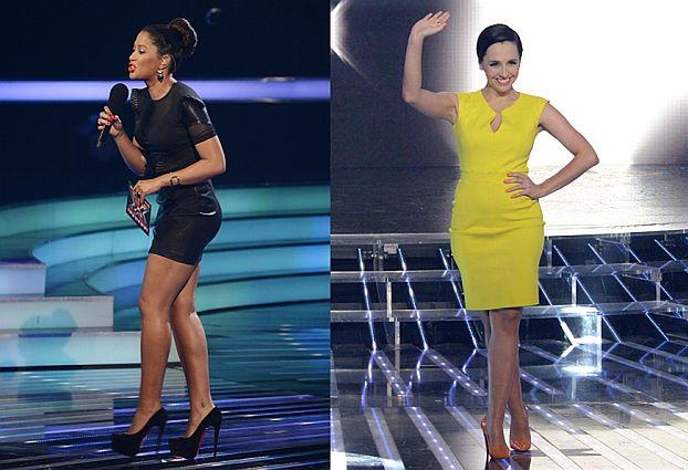 Kazadi w obcisłej sukience i żółta Tatiana (ZDJĘCIA)