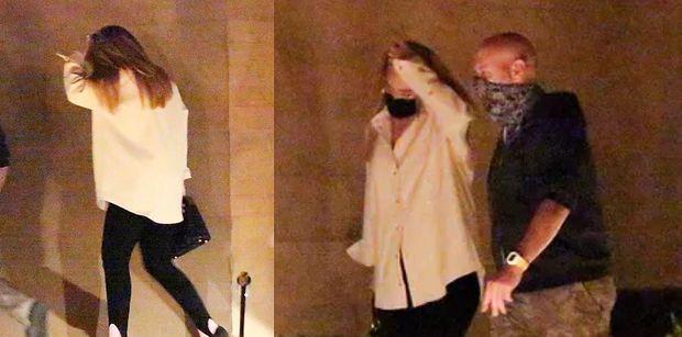 Zgrabna Adele zmierza na randkę z nowym chłopakiem i torebką za 20 tysięcy (ZDJĘCIA)