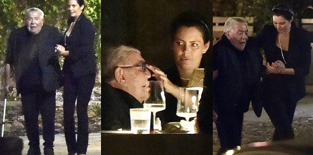 80-letni Roberto Cavalli i jego młodsza o 45 lat ukochana dokazują w Portofino (ZDJĘCIA)