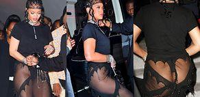 Rihanna świeci pośladkami niczym Katarzyna Warnke na afterparty po MET Gala 2021 (ZDJĘCIA)