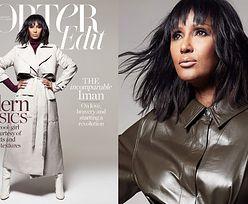 """63-letnia Iman powraca w sesji dla """"Porter Edit"""""""