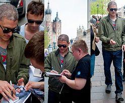 Wentworth Miller rozdaje autografy w Krakowie! (ZDJĘCIA)