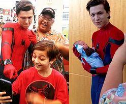"""Aktorzy ze """"Spider-Mana"""" odwiedzili szpital dla dzieci! (FOTO)"""