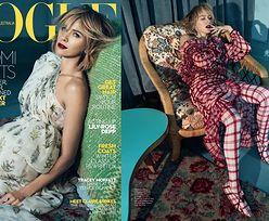"""Rozczochrana Naomi Watts na okładce """"Vogue'a"""""""