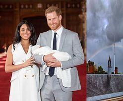 """Gdy ogłaszano imię royal baby, nad zamkiem pojawiła się tęcza. """"To musi być Diana!"""""""