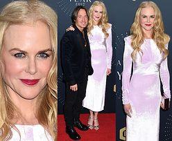 Złowieszcza twarz Nicole Kidman na imprezie country