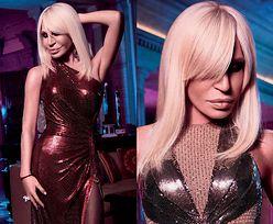 Donatella Versace eksponuje pachę na łamach gejowskiego magazynu...