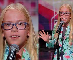 """12-letni Axel Drop zachwycił jurorów """"Mam Talent!"""". """"Wyglądasz jak hipis, gadasz, jakbyś miał 48 lat, śpiewasz jak dziewczyna. Pięknie!"""""""
