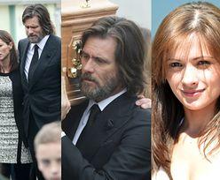 Jim Carrey niesie trumnę byłej dziewczyny (ZDJĘCIA)