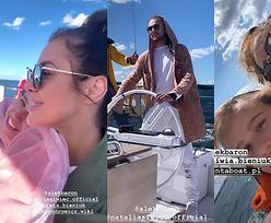 Oliwia Bieniuk bawi się na jachcie w doborowym towarzystwie Natalii Siwiec, Julii Wieniawy i Barona (FOTO)