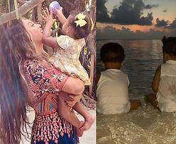 Beyonce pokazała zdjęcie bliźniaków z wypadu do Indii! (FOTO)