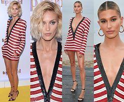 Kto wyglądał lepiej w sukience za 40 tysięcy: Anja Rubik czy Hailey Bieber?