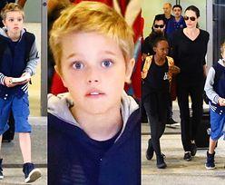 9-letnia Shiloh Jolie-Pitt OBCIĘŁA WŁOSY! (ZDJĘCIA)